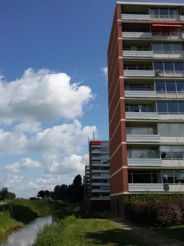 Gevelrenovatie flat Breukelen