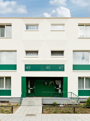 Renovatie van 57 woningen in Tegelen